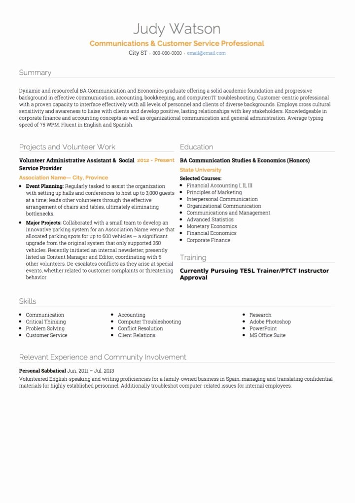 Customer Service Cv Examples & Templates