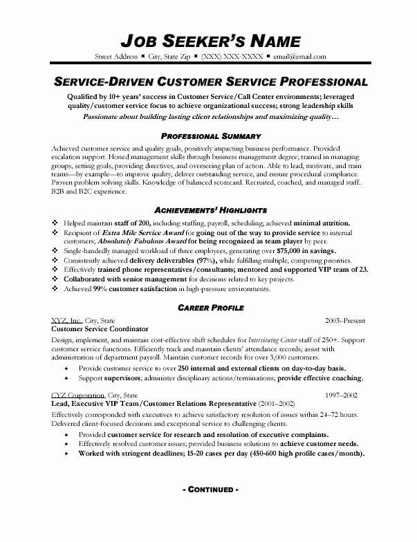Customer Service Resume Examples 2015 thedigimednet
