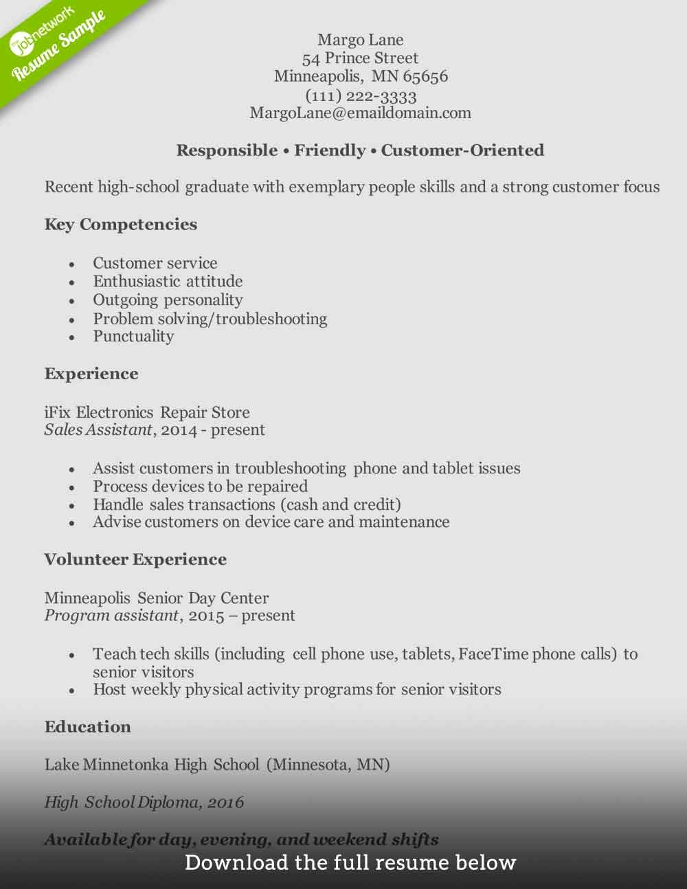 Customer Service Resume How to Write the Perfect E
