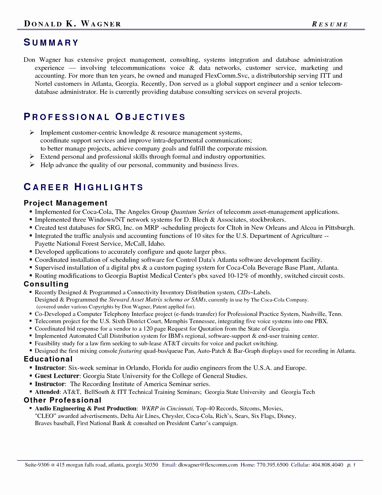 Customer Service Summary Resume Summary Examples for