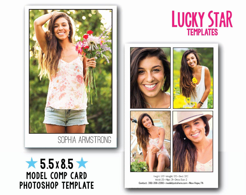 Customizable Digital Model P Card Power Portraits