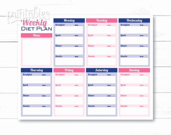 Customizable Meal Planner with Calorie Tracker Meal Planner