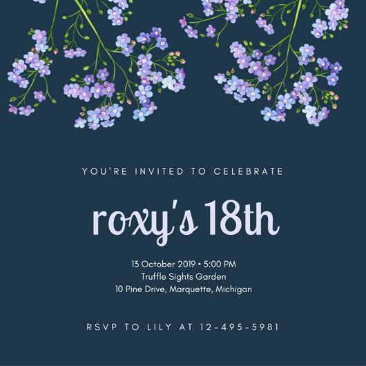 Customize 1 023 18th Birthday Invitation Templates Online