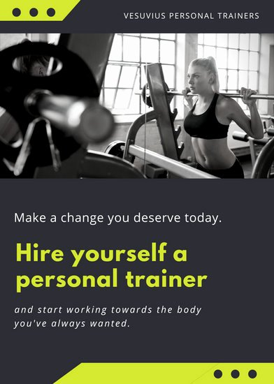 Customize 102 Fitness Flyer Templates Online Canva
