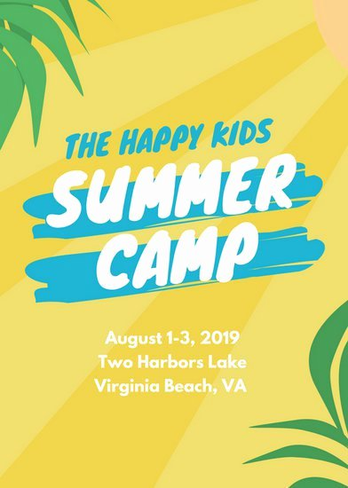 Customize 150 Summer Camp Flyer Templates Online Canva