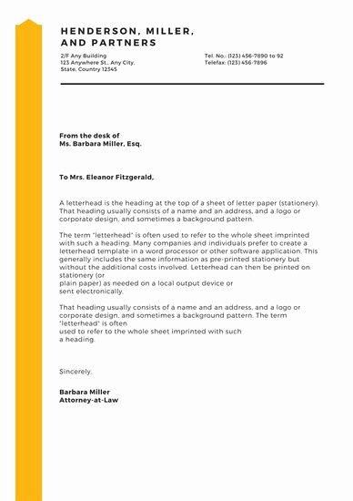 Customize 178 Business Letterhead Templates Online Canva