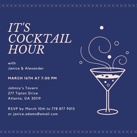 Customize 242 Happy Hour Invitation Templates Online Canva