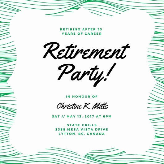 Customize 3 999 Retirement Party Invitation Templates