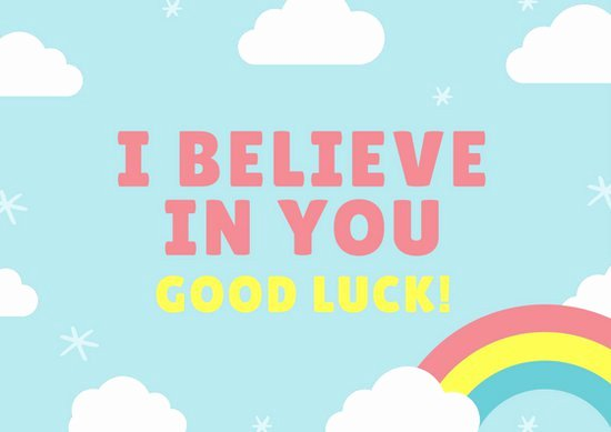 Customize 388 Good Luck Card Templates Online Canva