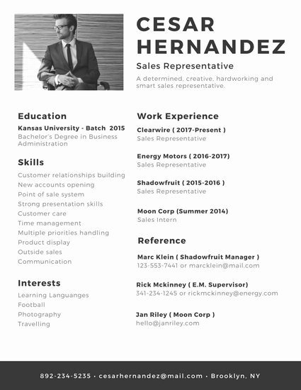 Customize 764 Modern Resume Templates Online Canva
