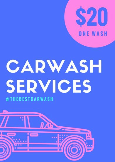 Customize 77 Car Wash Flyer Templates Online Canva