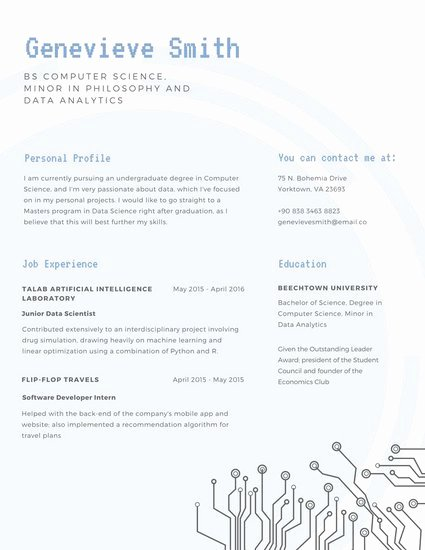 Customize 980 Resume Templates Online Canva
