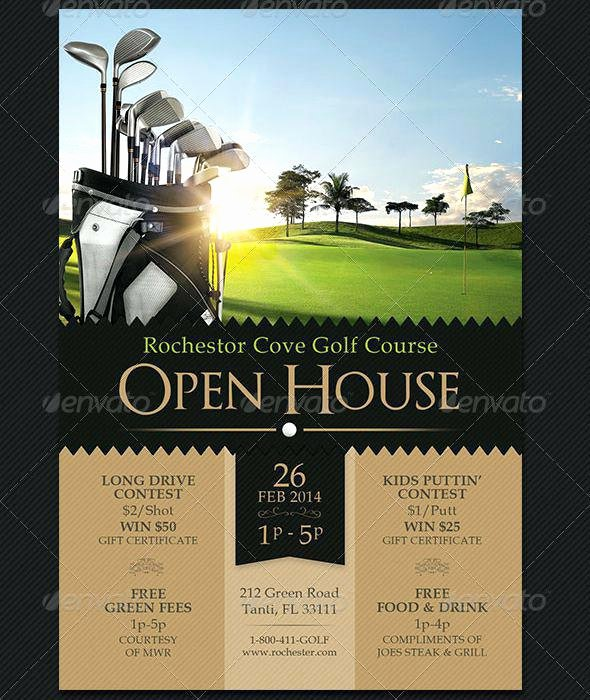 Customize Real Estate Flyer Templates Line Open House