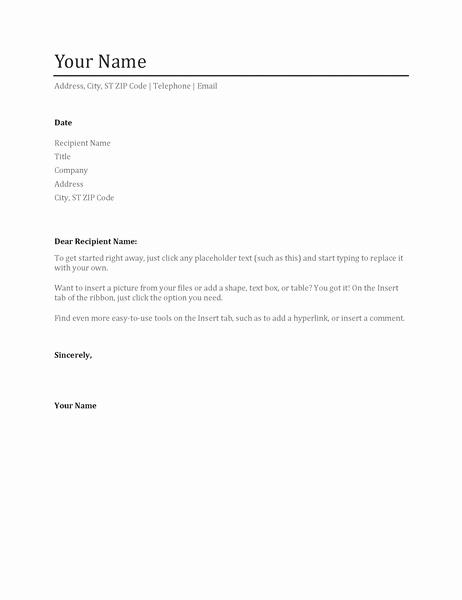 Cv Cover Letter Fice Templates