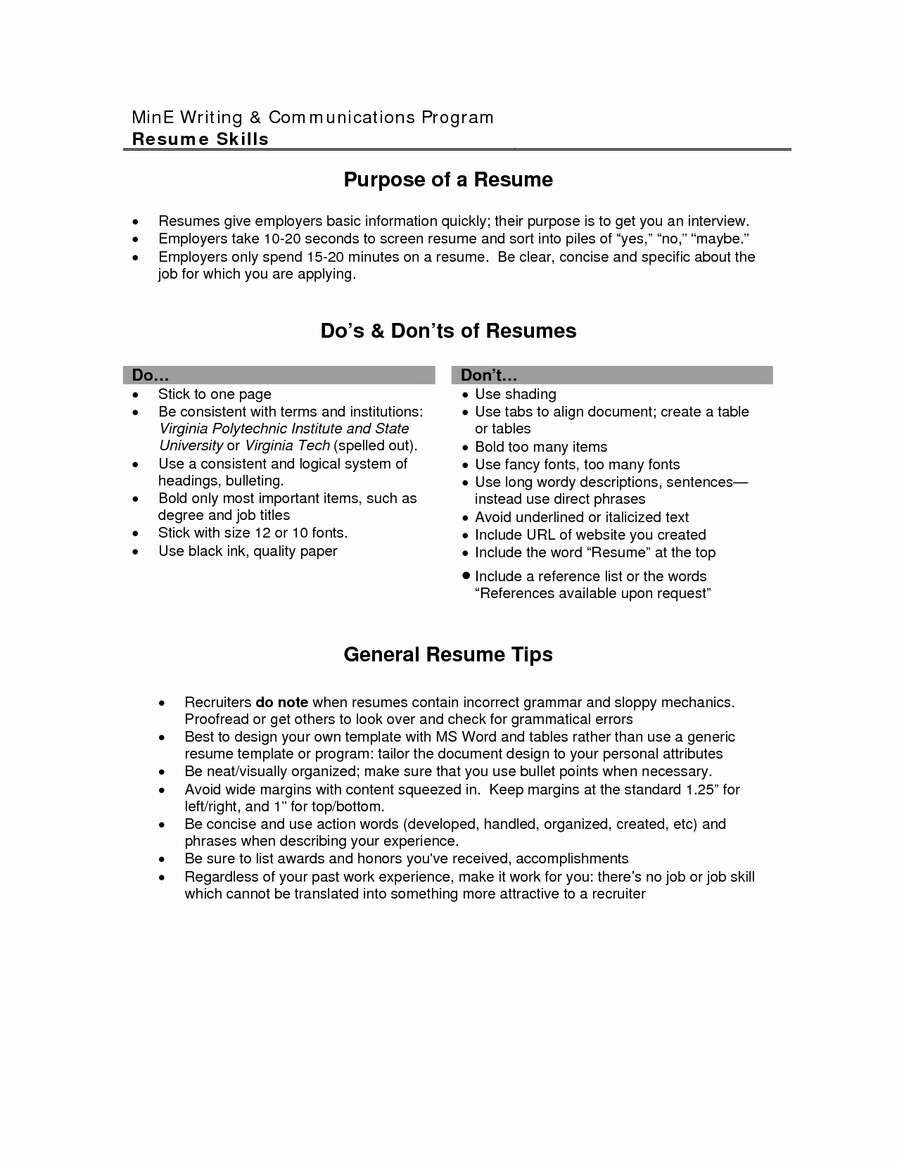 Cv Objective Statement Example Resumecvexample