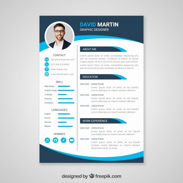 Cv Template Vectors S and Psd Files