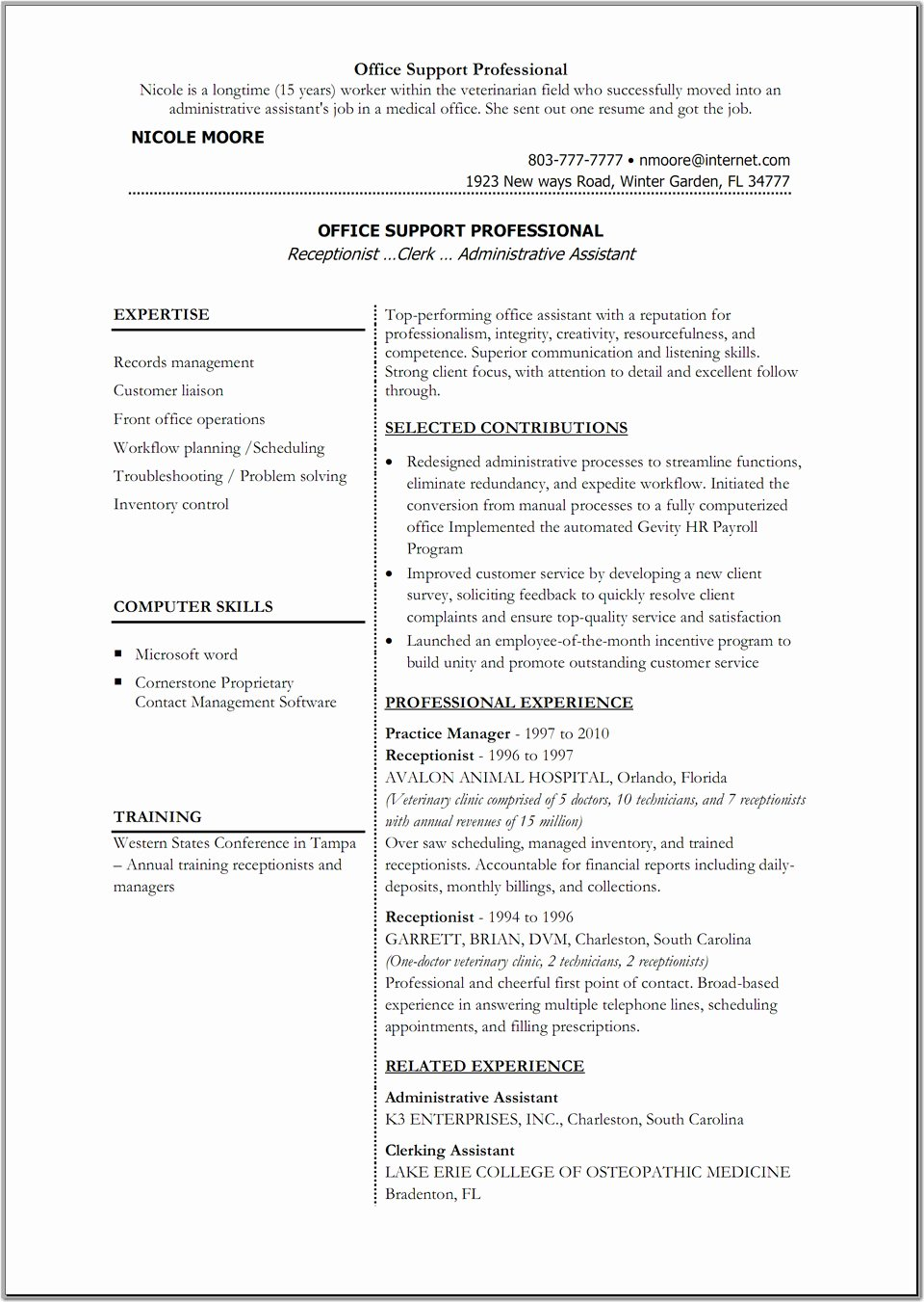 Cv Template Word 2010 Download Templates Free Document