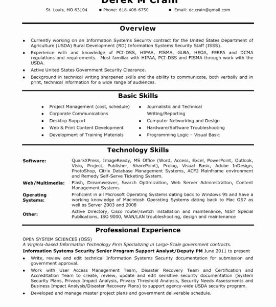 Cyber Security Resume Keywords