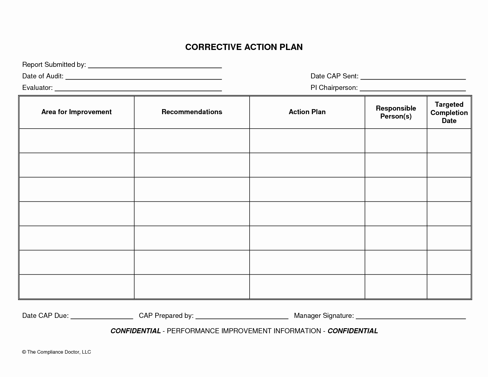 Daily Action Plan Template Install