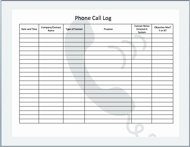 Daily Call Sheet Template Free Excel – Rightarrow Template