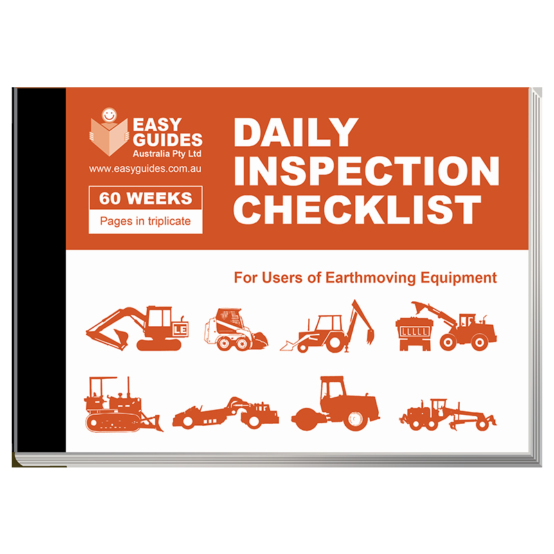 Daily Inspection Checklist for Earthmoving Equipment
