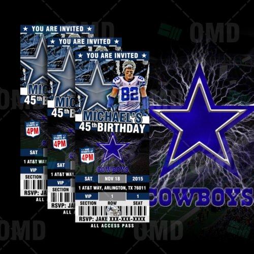 Dallas Cowboys Custom Candy Bar Wrapper – Sports Invites