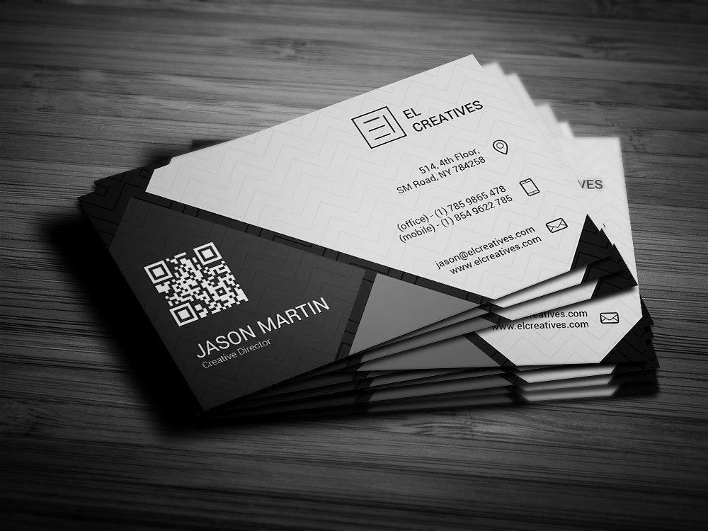 Dark Creative Business Card Business Card Templates