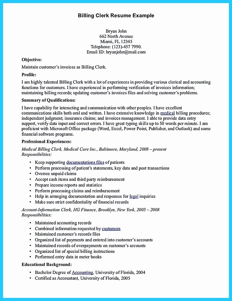 Data Entry Specialist Resume Resume Ideas