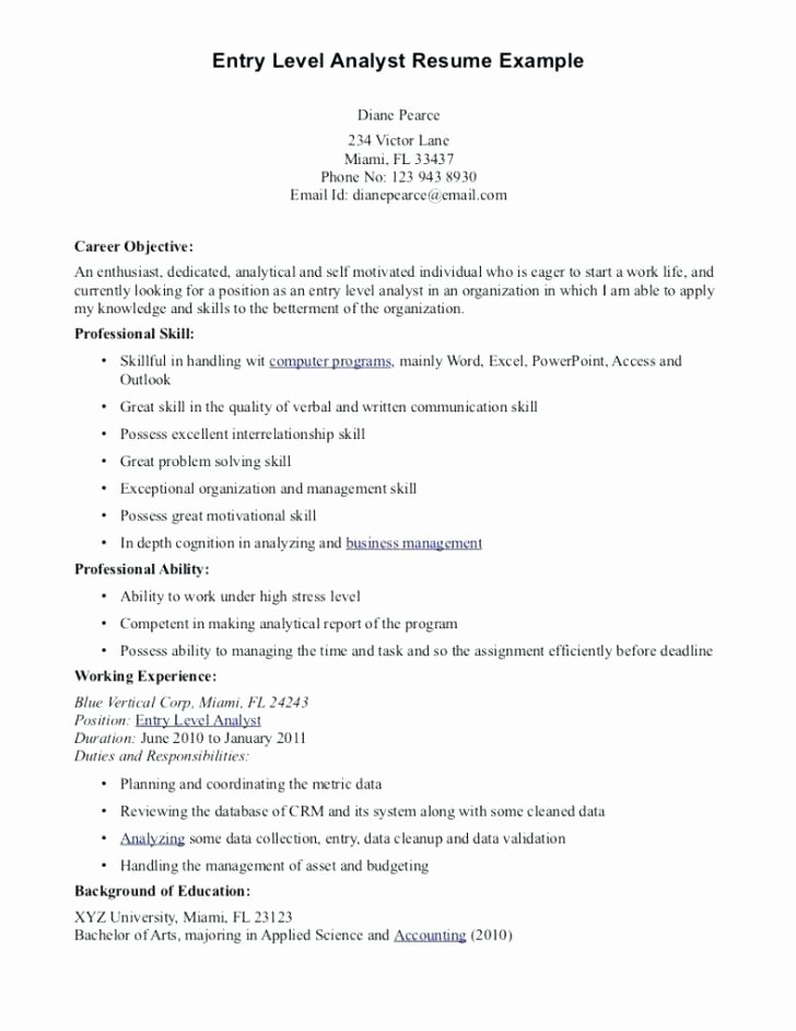 Data Scientist Resume Beautiful Lovely Examples Personal