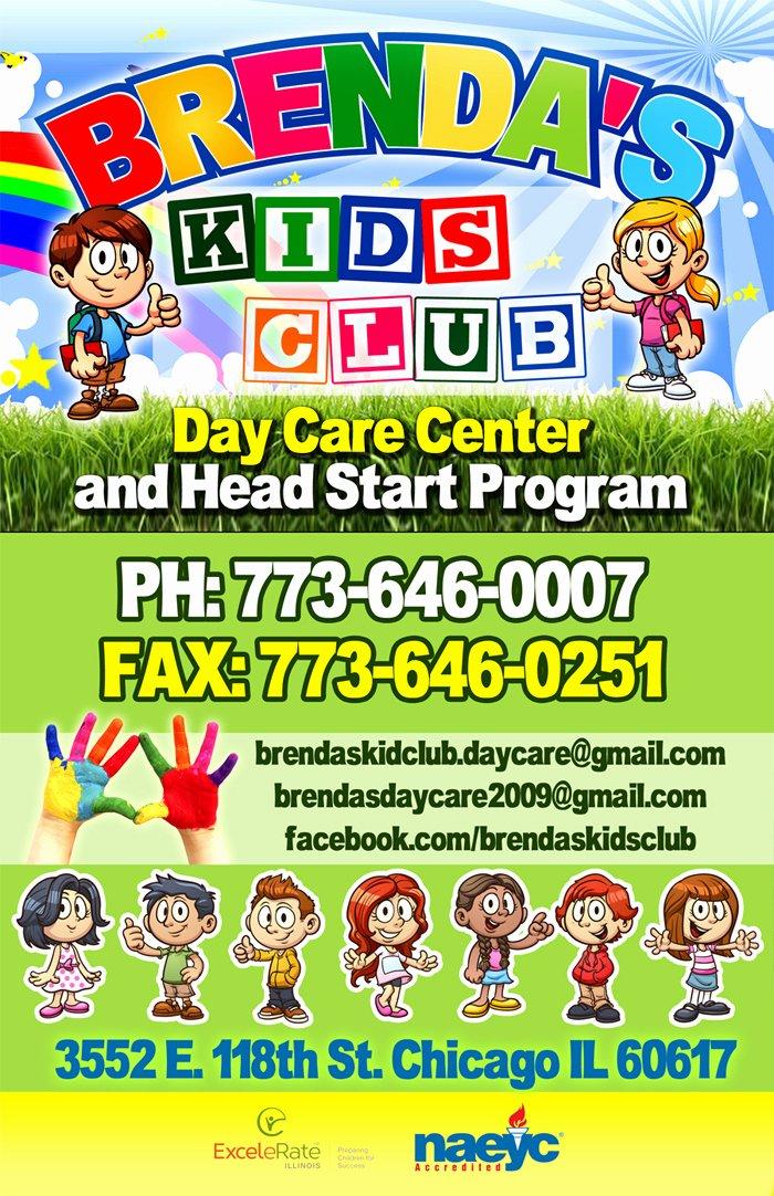 Day Care Center Flyer Sample