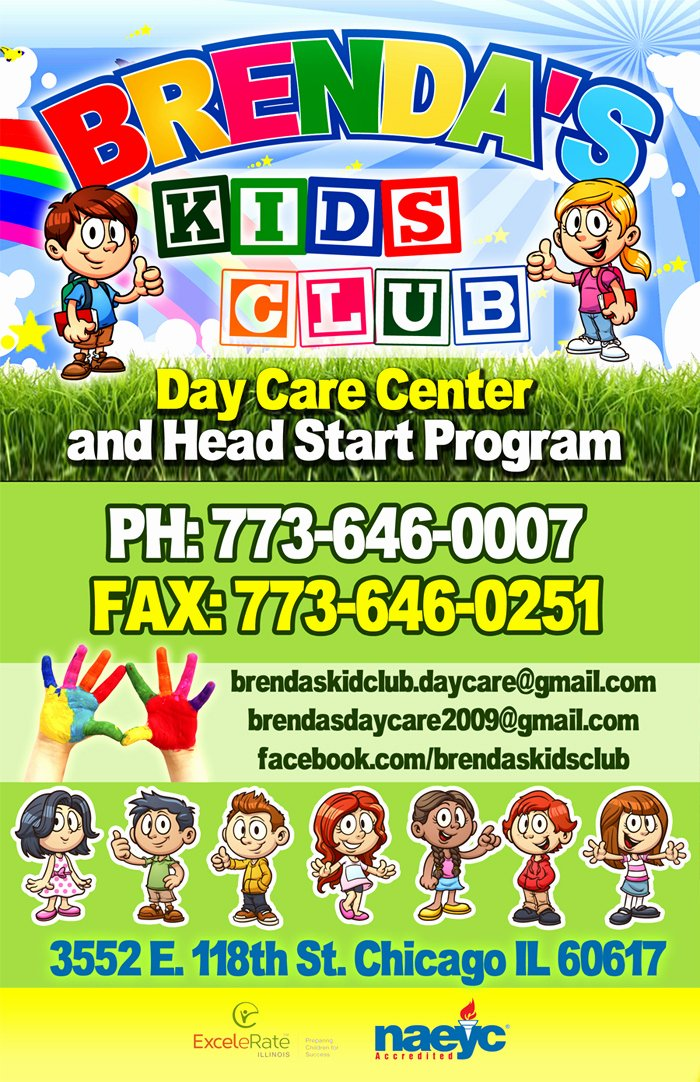 Day Care Center Flyer Sample