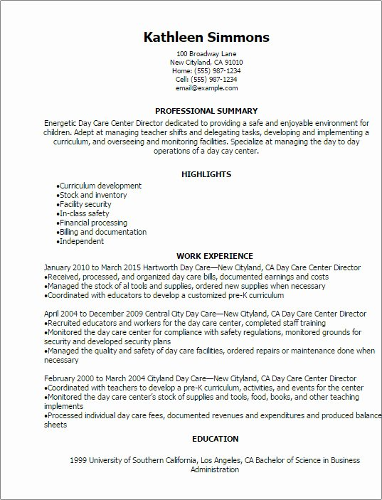 Day Care Worker Job Description Keni Resume Printable