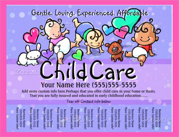 Daycare Flyers Printables 569a367b0c50 Idealmedia