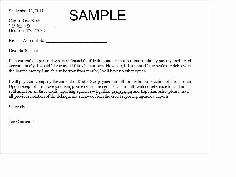 Debt Validation Letter Template