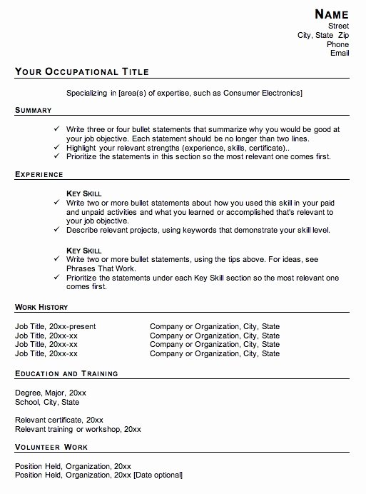 Definition Functional Resume Best Resume Gallery