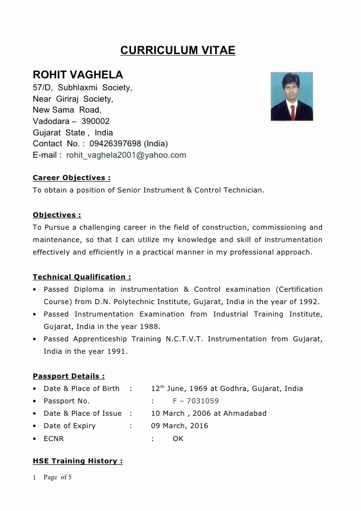 definition of resume template