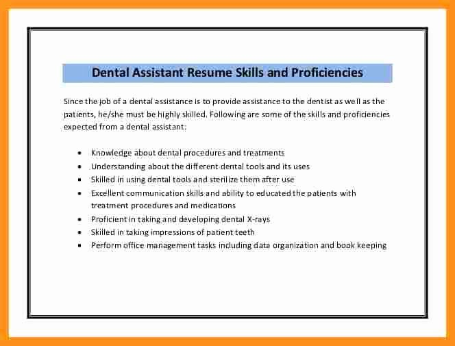 Dental assistant Skills 8 Dental assistant Skills for