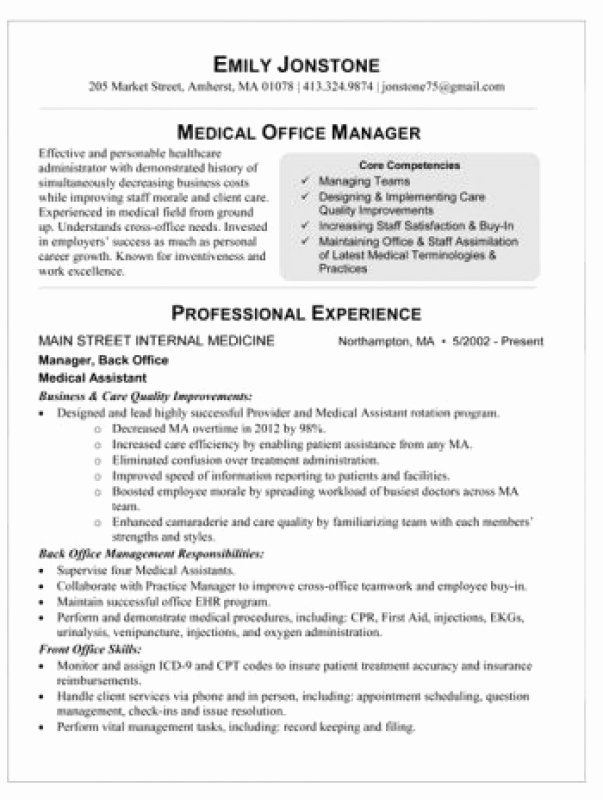 Dental Fice Manager Resume Sample Staruptalent