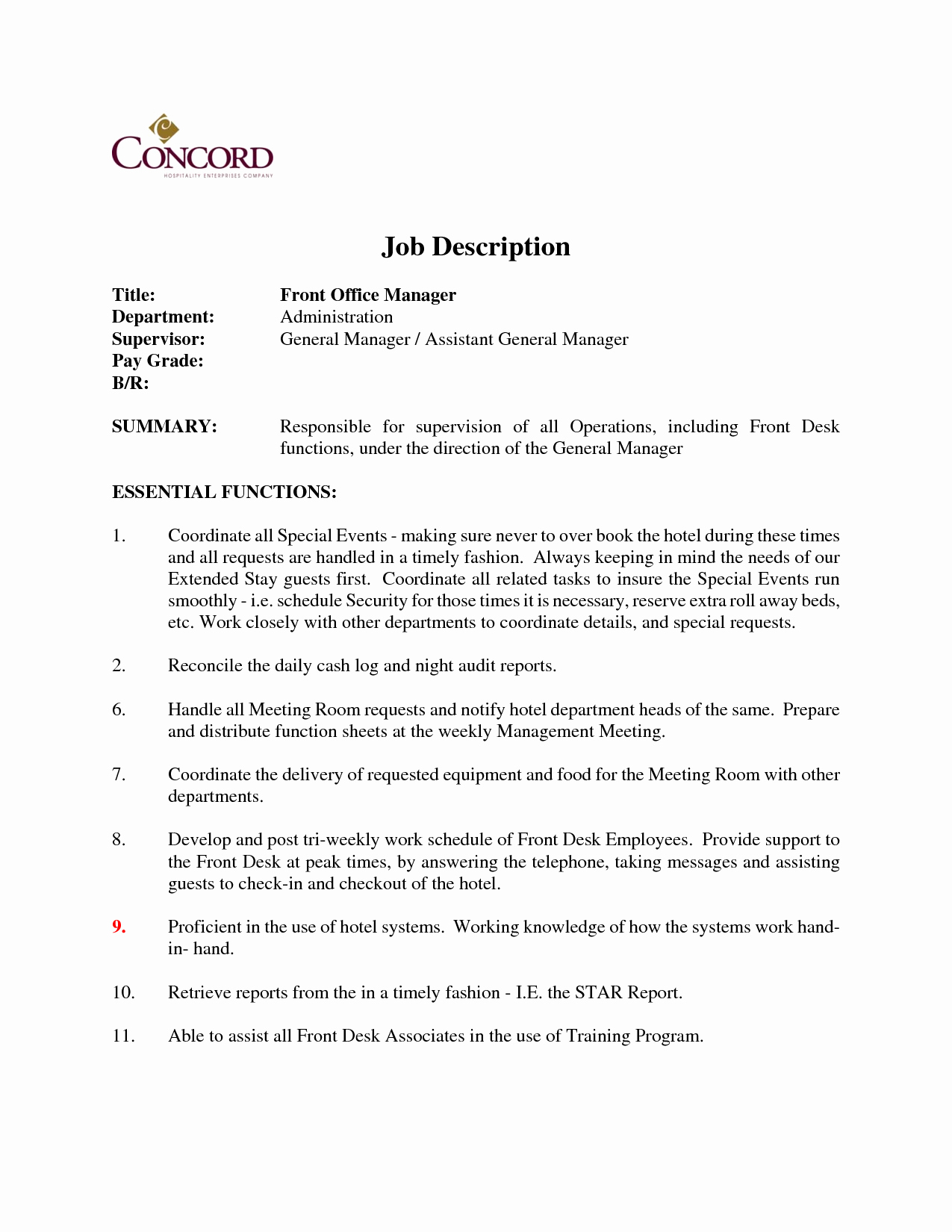 Dental Front Desk Resume Templates Hostgarcia