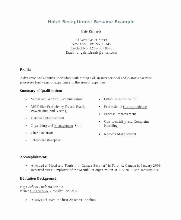 Dental Receptionist Resume Examples – Resume Ideas Pro