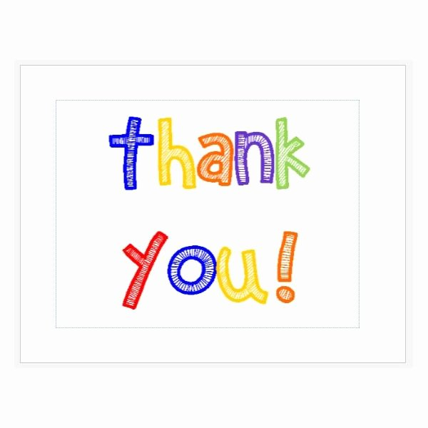 Design and Print Your Own Thank You Cards with these Ms