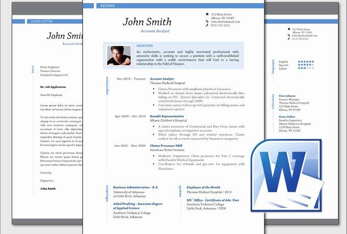 Design Clean Professional Resume Cv Template Word Fiverr