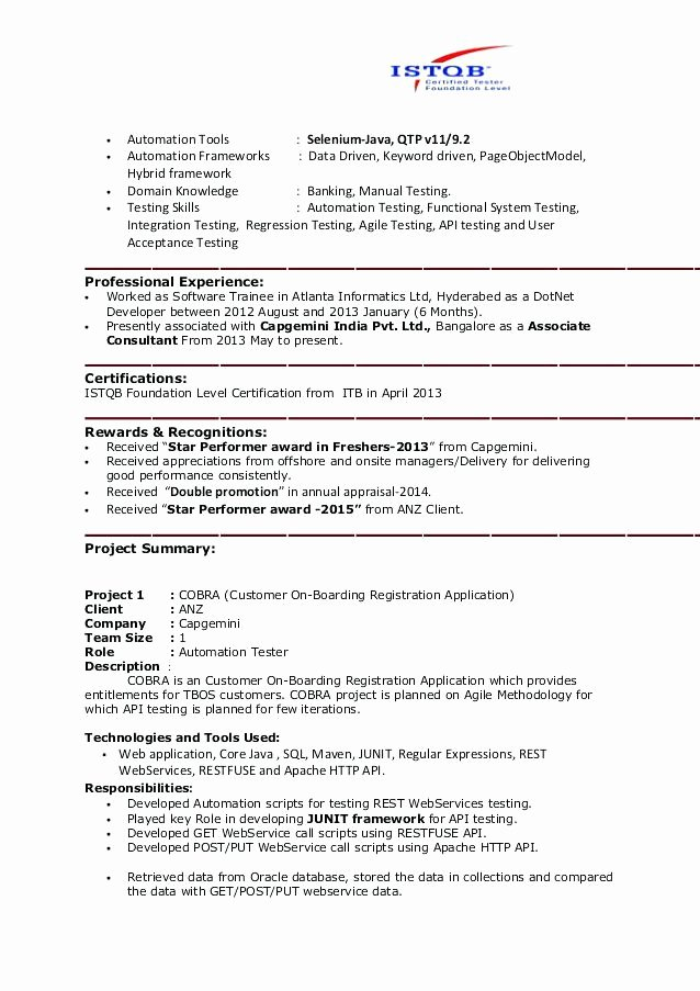 Design Engineer Resume format Fresh Entry Level Overseas