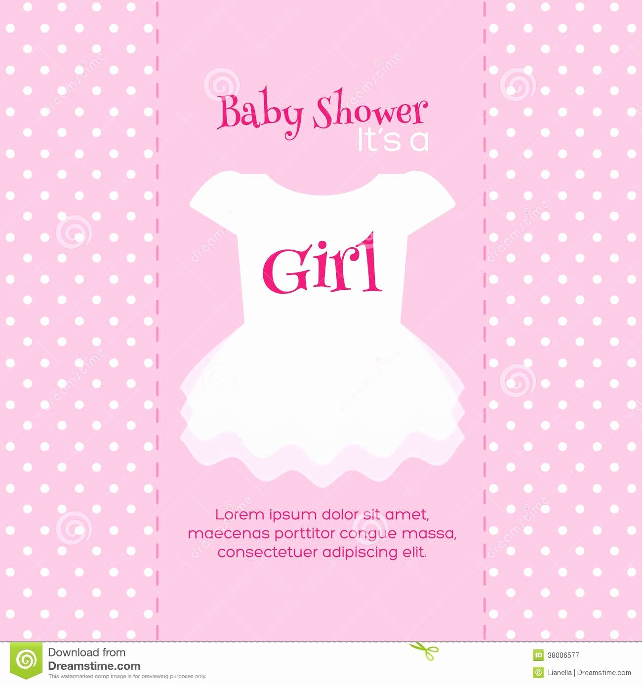 Design Free Printable Baby Shower Invitations for Girls