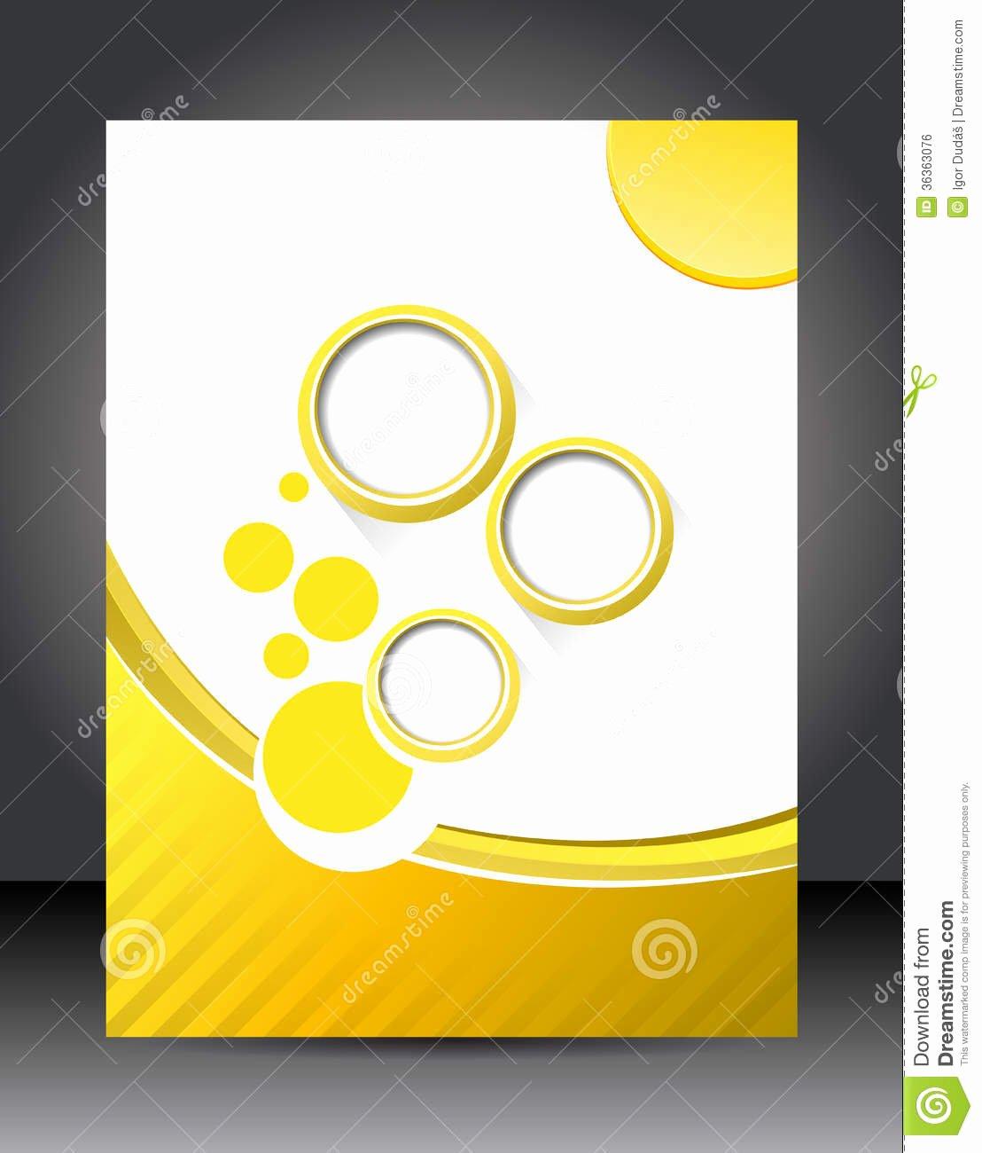 Design Layout Template Stock Illustration Illustration Of
