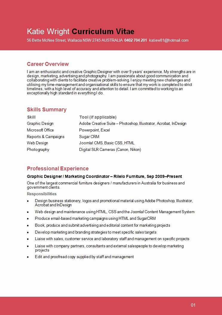 Designer Resume Examples Best Resume Collection