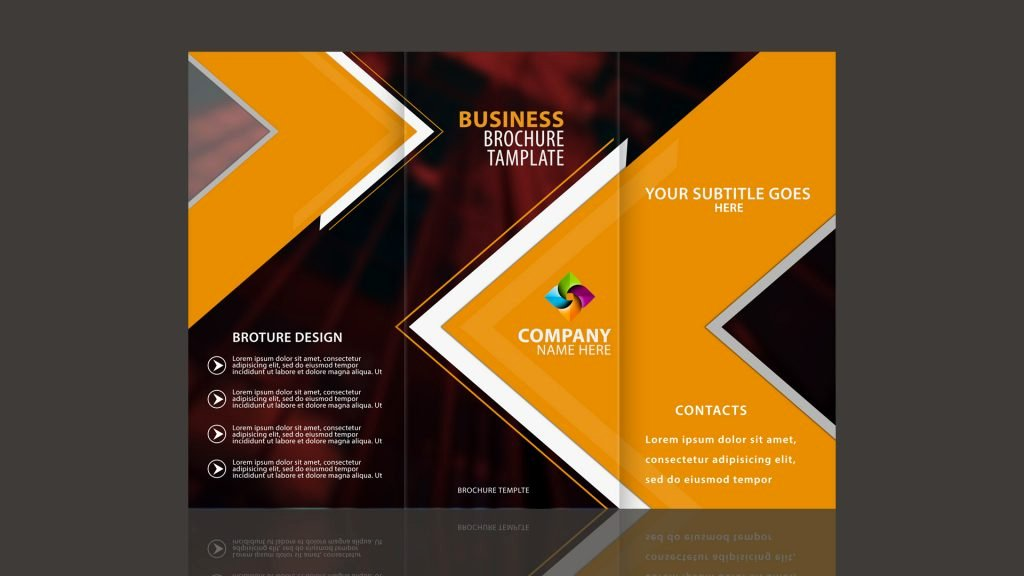 Designing A Brochure In Photoshop Tri Fold Brochure Design