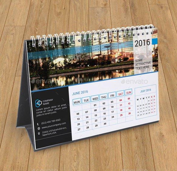 Desk Calendar Template – 30 Free Psd Ai Indesign Eps formats Download