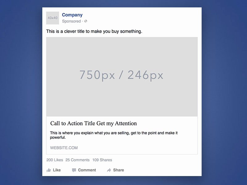 1619 desktop ad template sketch freebie resource