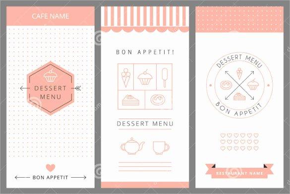 Dessert Menu Templates – 21 Free Psd Eps format Download